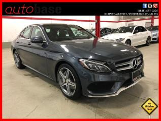 Used 2016 Mercedes-Benz C-Class C300 4MATIC PREMIUM PLUS AMG INTERIOR SPORT PKG for sale in Vaughan, ON