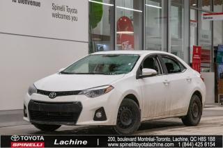 Used 2014 Toyota Corolla S for sale in Lachine, QC