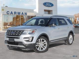 Used 2016 Ford Explorer XLT Leather Navigation  Moonroof for sale in Carman, MB