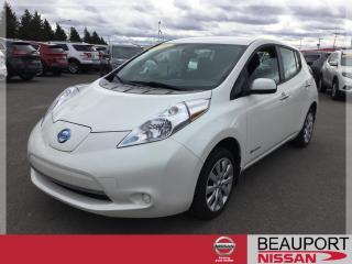 Used 2016 Nissan Leaf for sale in Beauport, QC