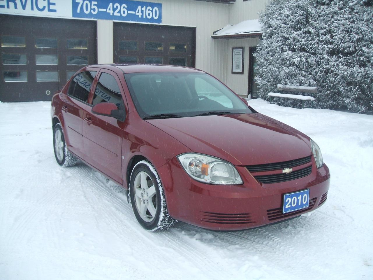 Photo of Maroon 2010 Chevrolet Cobalt