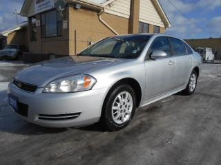 Used 2011 Chevrolet Impala Undercover Police Pkg V6 FWD Certified ONLY 130Km for sale in Etobicoke, ON