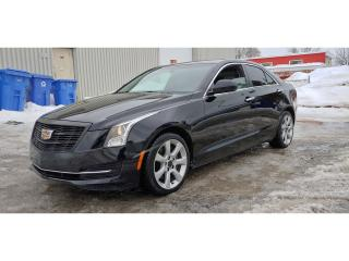 Used 2015 Cadillac ATS Turbo for sale in St-Jérôme, QC