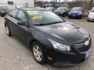 Used 2014 Chevrolet Cruze 2LT, Loaded with Leather for sale in St Catharines, ON
