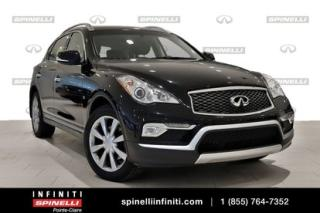 Used 2016 Infiniti QX50 Base Sunroof for sale in Montréal, QC