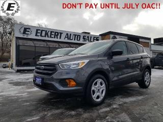 Used 2017 Ford Escape S WITH LOW LOW KMS!! for sale in Barrie, ON