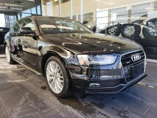 Used 2016 Audi A4 KOMFORT+, HEATED SEATS, SUNROOF, for sale in Edmonton, AB