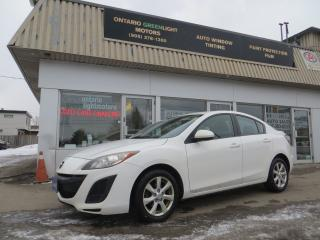 Used 2011 Mazda MAZDA3 AUTOMATIC,CLEAN CARFAX,A/C,ALL POWER,ALLOYS for sale in Mississauga, ON