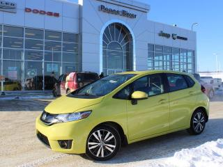 Used 2016 Honda Fit EXL for sale in Peace River, AB
