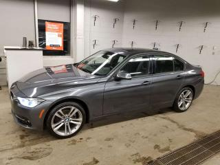 Used 2018 BMW 3 Series 330xi AWD; BEAUTIFUL CAR, NAV, HEATED SEATS, SUNROOF AND MORE for sale in Edmonton, AB