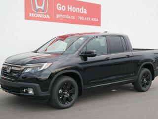 New 2019 Honda Ridgeline Black Edition for sale in Edmonton, AB