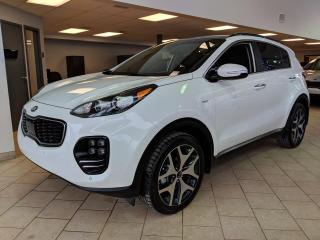 Used 2018 Kia Sportage SX Turbo AWD GPS Toit Pano Cuir for sale in Pointe-Aux-Trembles, QC