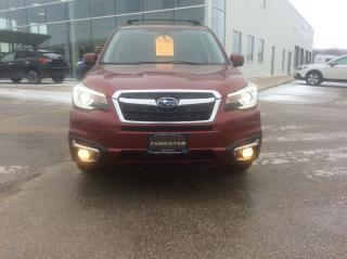 Used 2017 Subaru Forester Limited Eyesight for sale in Owen Sound, ON