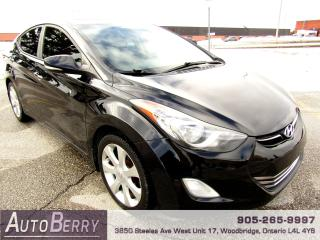 Used 2012 Hyundai Elantra Limited - 1.8L - Leather for sale in Woodbridge, ON