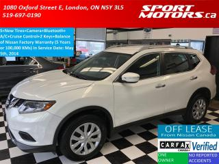 Used 2014 Nissan Rogue S+Camera+Bluetooth+New Tires+Cruise+A/C+XM Radio for sale in London, ON