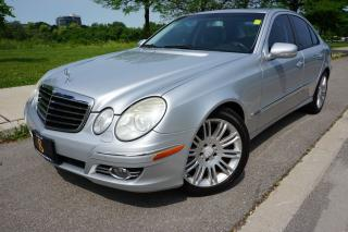 Used 2009 Mercedes-Benz E-Class LOCAL CAR / NO ACCIDENTS / NAVIGATION for sale in Etobicoke, ON
