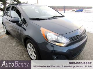 Used 2013 Kia Rio LX+ - 1.6L - FWD for sale in Woodbridge, ON