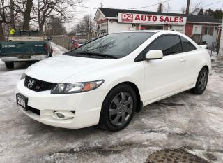 Used 2010 Honda Civic Si Vtec/Certified/6 Speed/Accident Free for sale in Scarborough, ON