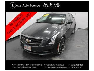 Used 2017 Cadillac ATS Luxury AWD RARE CARBON BLACK PKG! RECARO SEATS! for sale in Orleans, ON