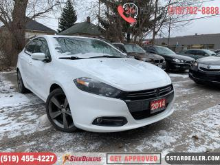 Used 2014 Dodge Dart GT | LEATHER | ROOF | CAM | HEATED SEATS for sale in London, ON