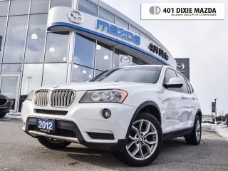 Used 2012 BMW X3 xDrive28i (A8), NO ACCIDENTS, WINTER TIRE PKG INCL for sale in Mississauga, ON