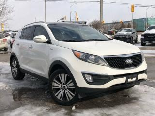 Used 2015 Kia Sportage EX Luxury w/Navigation for sale in Mississauga, ON