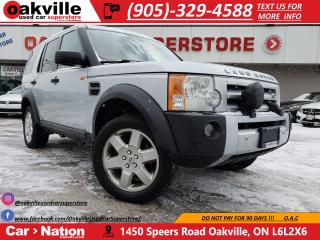 Used 2007 Land Rover LR3 V8 HSE | LEATHER | NAVI | DVD | AS IS for sale in Oakville, ON