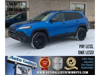 Used 2018 Jeep Cherokee Trailhawk Leather Plus *4X4/Navigation for sale in Winnipeg, MB