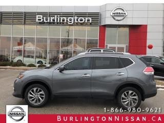 Used 2015 Nissan Rogue SL, AWD, ACCIDENT FREE ! for sale in Burlington, ON