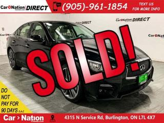 Used 2015 Infiniti Q50 Sport| AWD| NAVI| SUNROOF| for sale in Burlington, ON