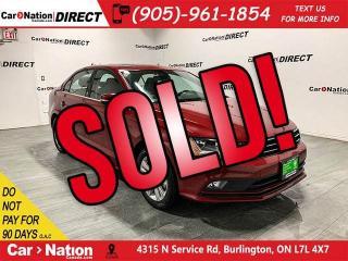 Used 2017 Volkswagen Jetta Wolfsburg Edition| BACK UP CAMERA| SUNROOF| for sale in Burlington, ON