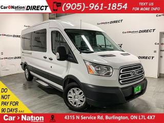 Used 2017 Ford Transit XLT| NAVI| BACK UP CAM| 12-PASSENGER| for sale in Burlington, ON