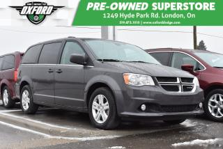 Used 2018 Dodge Grand Caravan Crew - One Time Special - 10 Vans to Choose From! for sale in London, ON
