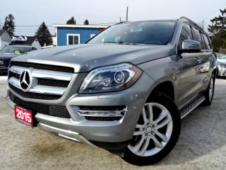 Used 2015 Mercedes-Benz GL-Class GL350 BlueTEC 4M NAVI NO ACCIDENT PANORAMIC CAMERA  CERTIFIED for sale in Guelph, ON