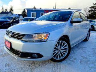Used 2011 Volkswagen Jetta TDI HIGHLINE NAVI SUNROOF LEATHER CAMERA CERTIFIED for sale in Guelph, ON