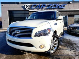 Used 2014 Infiniti QX80 TECH PACKAGE ONE OWNER, SERVICED for sale in Calgary, AB