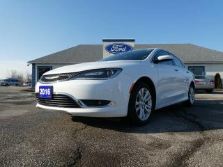 Used 2016 Chrysler 200 Limited- BIG SCREEN- HEATED SEATS- BACKUP CAM for sale in Essex, ON