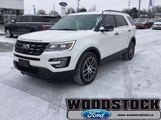 Used 17 Ford Explorer Sport  - Low Mileage for sale in Woodstock, ON