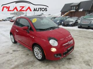 Used 2015 Fiat 500 SPORT Convertible for sale in Beauport, QC
