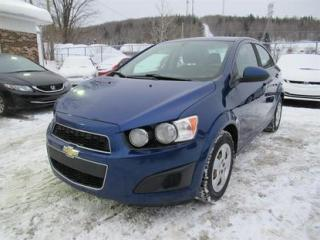 Used 2014 Chevrolet Sonic LT for sale in Québec, QC