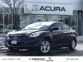 Used 2012 Hyundai Elantra GL at Bluetooth, Heated Seats, Tints for sale in Markham, ON