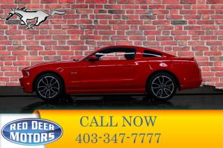 Used 2014 Ford Mustang GT Leather Nav for sale in Red Deer, AB