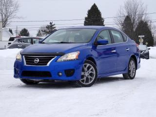 Used 2013 Nissan Sentra SR + MAGS + BLUETOOTH + A/C + JAMAIS ACC for sale in Magog, QC