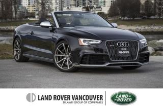 Used 2013 Audi RS 5 4.2 S tronic qtro Cab for sale in Vancouver, BC