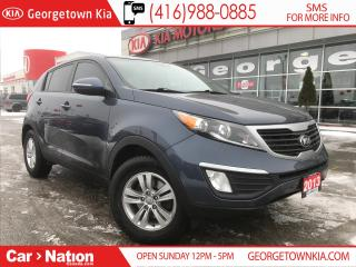 Used 2013 Kia Sportage LX | MANUAL | RARE FIND | KIA CERTIFIED | for sale in Georgetown, ON