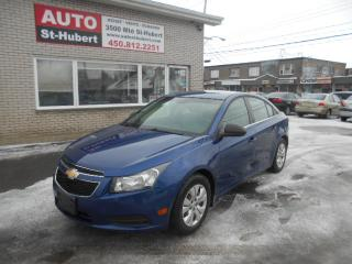 Used 2012 Chevrolet Cruze LS for sale in St-Hubert, QC