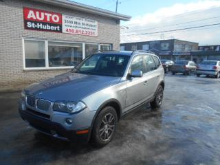 Used 2007 BMW X3 3.0I for sale in St-Hubert, QC
