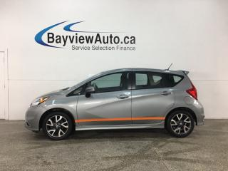 Used 2015 Nissan Versa Note 1.6 SR - REVERSE CAM! BLUETOOTH! A/C! CRUISE! ALLOYS! for sale in Belleville, ON