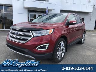 Used 2015 Ford Edge Titanium, AWD et TOIT pano for sale in Shawinigan, QC