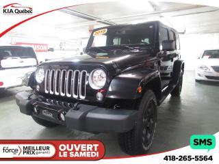 Used 2018 Jeep Wrangler Unltd Sahara 4x4 for sale in Québec, QC